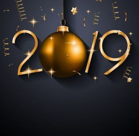 Happy 2019 card - Happy 2019 card