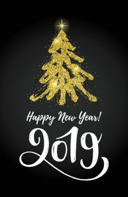 Happy new year 2019 card - Happy new year 2019 card