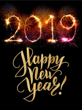 photo Happy new year 2019 card - photo Happy new year 2019 card