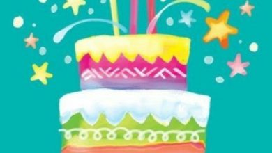 Beautiful happy birthday messages Image 390x220 - Beautiful happy birthday messages Image