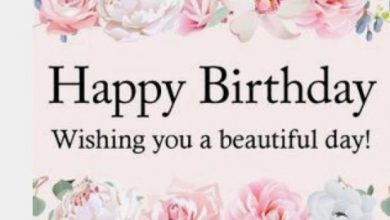 Birthday greetings messages Image 390x220 - Birthday greetings messages Image