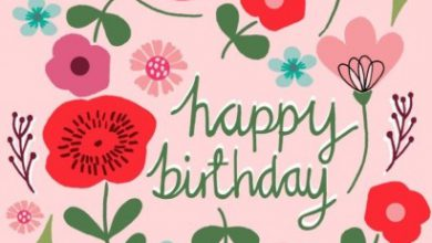 Birthday wishes in Image 390x220 - Birthday wishes in Image