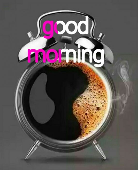 With morning love greetings Good morning