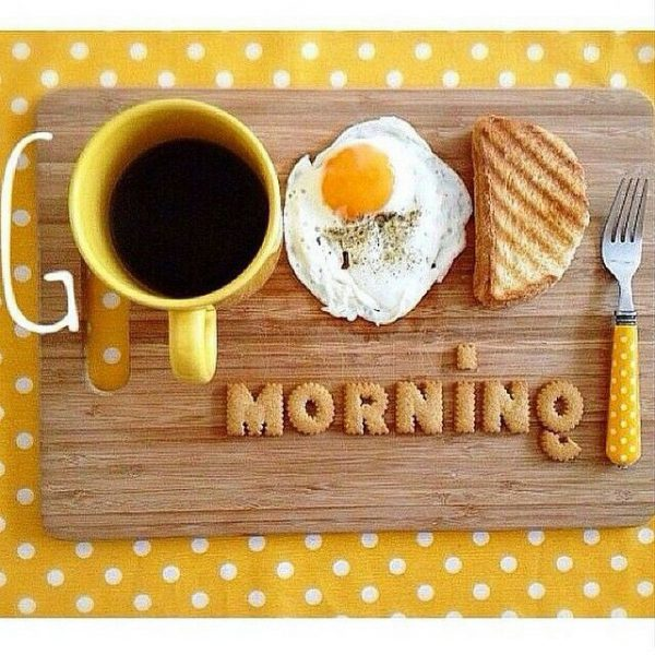 Coffee and Breakfast Greeting Om good morning Images - Coffee and Breakfast Greeting Om good morning Images