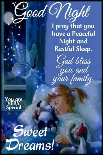 Cute good night messages image - Cute good night messages image