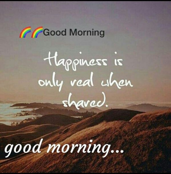 Happy morning mountains photos Greetings Images - Happy morning mountains photos Greetings Images