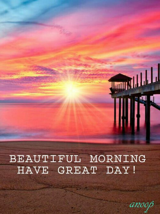 Happy morning river photo Greetings Images - Happy morning river photo Greetings Images