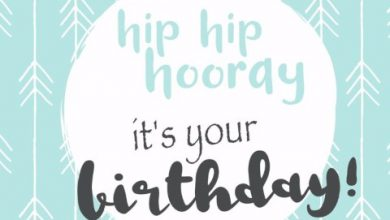 Simple happy birthday message Image 390x220 - Simple happy birthday message Image