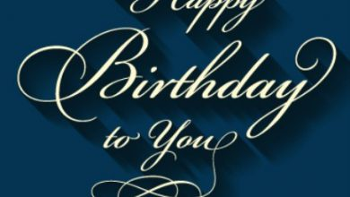 Some birthday messages Image 390x220 - Some birthday messages Image