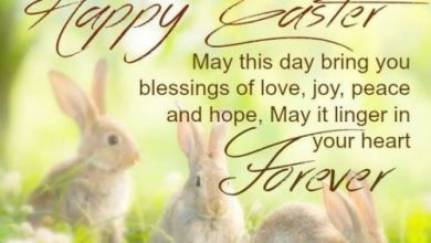 Easter Card Messages Religious 390x220 - Easter Card Messages Religious