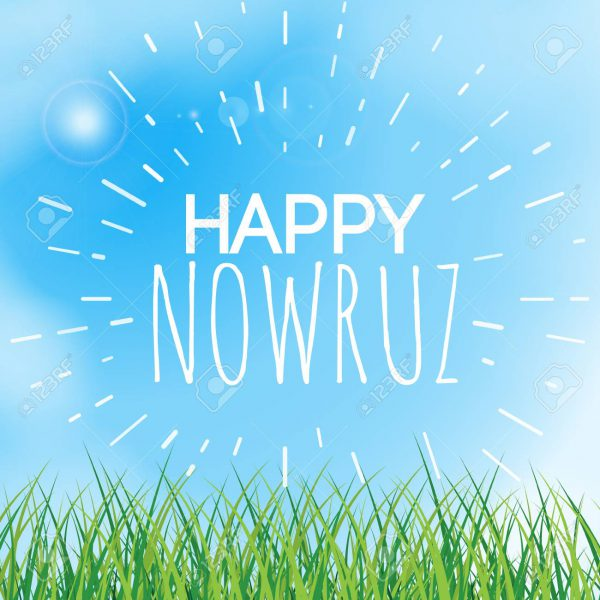 Happy Nowruz Wishes - Happy Nowruz greeting card. Iranian, Persian New Year