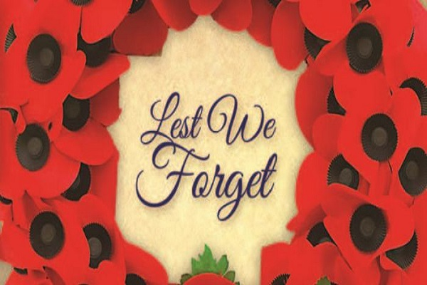Lest we forget Anzac Day