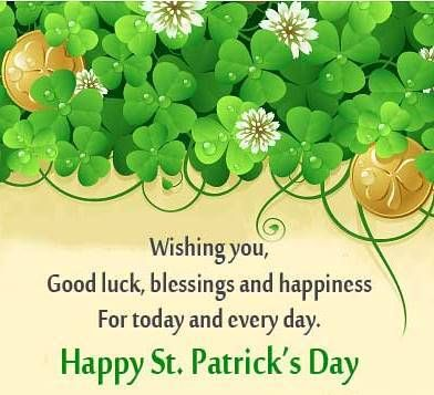 St Patrick Wishes - St Patrick Wishes