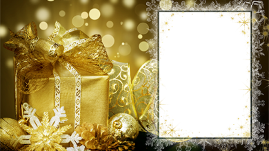 Awaiting of Christmas gifts photo frame 390x220 - Awaiting of Christmas gifts photo frame