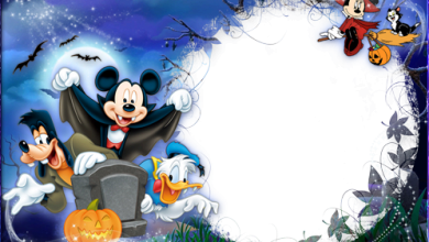 Halloween with Mickey and Friends photo frame 390x220 - Halloween with Mickey and Friends photo frame