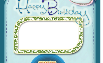 Happy Birthday with Baloons photo frame 360x220 - Happy Birthday with Baloons photo frame