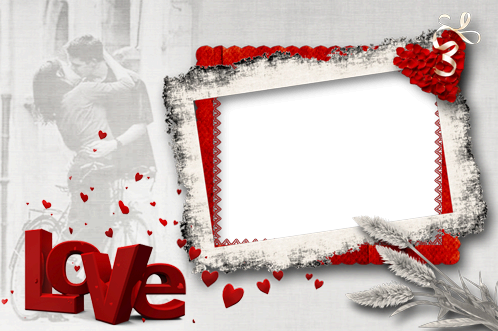 Madness Of Red Love photo frame - Madness Of Red Love photo frame