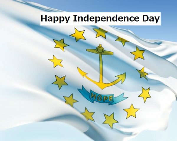 Rhode Island Independence Day wishes